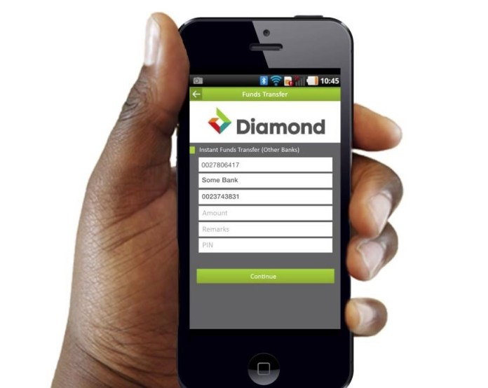 Where & How To Download & Register Diamond Bank Mobile App