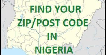 Nigeria post code