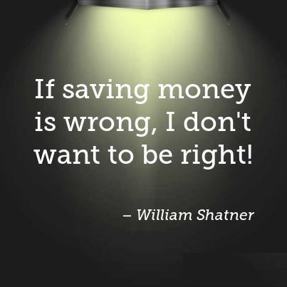 short savings quotes